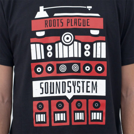 Roots Plague Soundsystem Shirt Details