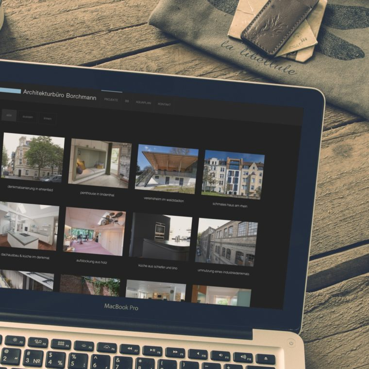 Architektur Borchmann Website