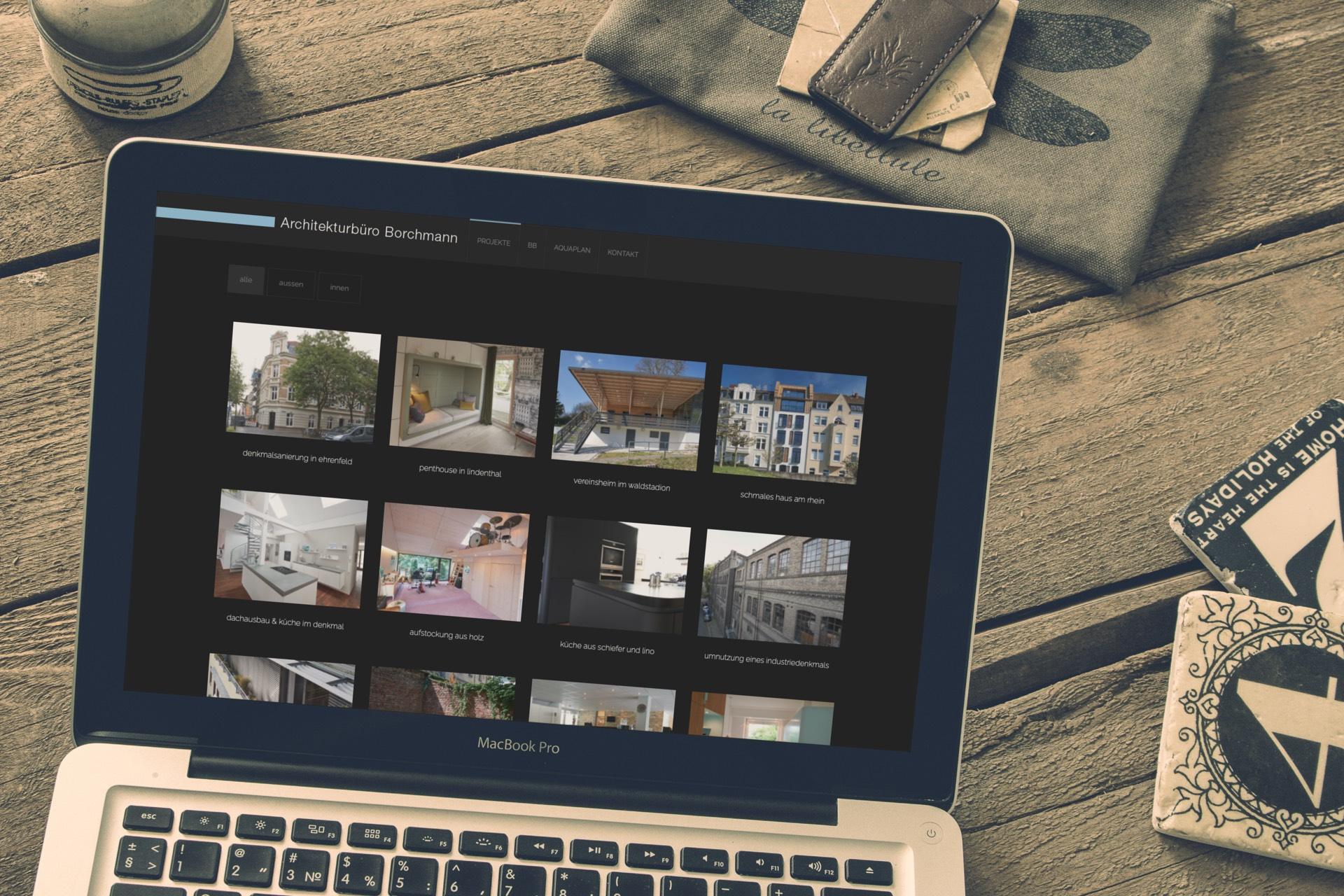 Architektur Borchmann Website