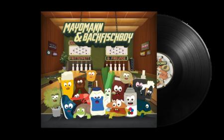 Mayomann & Backfischboy - Frittenfett & Freunde LP